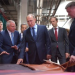 Путин провел совещание по развитию лёгкой промышленности в Рязани
