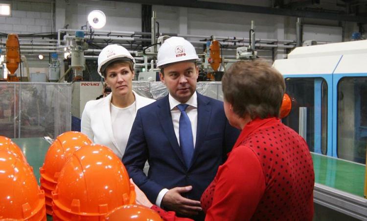Депутат Госдумы от КПРФ посетил Суксунский оптико-механический завод