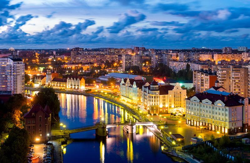 Sacla: из Калиниграда по всей России