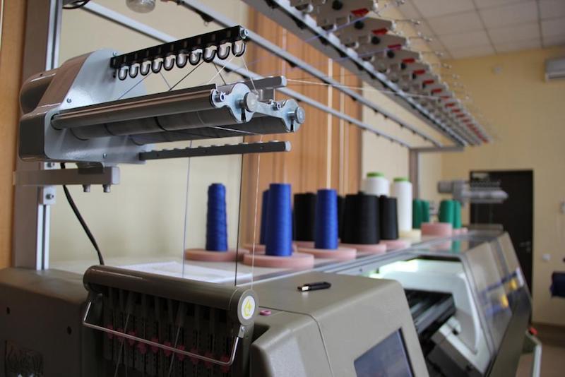 Технология 3D вязки в спецобуви Модерам