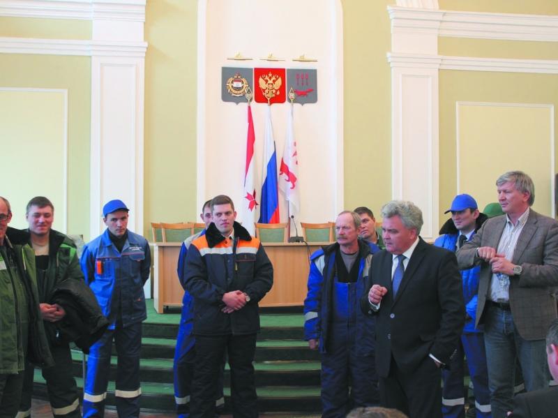 В Мордовии цвет спецодежды городских служб