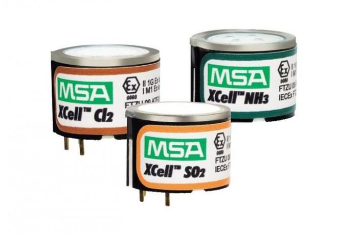 Сенсорные датчики MSA XCel три