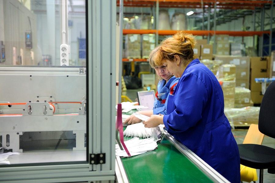 3М запускает на заводе в Волоколамске две новых линии по производству респираторов