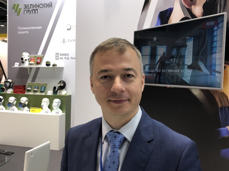 """Дмитрий Лапочкин """"Зелинский Групп"""" на выставке SAPE-2018"""