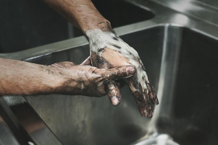 Моет руки грязные Мощная пенная паста Solopol® GFX