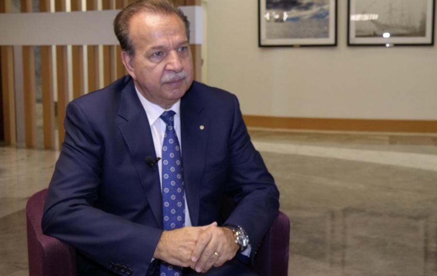 Ханс-Хорст Конколевски генеральный секретарь МАСО - The General Secretary of the ISSA (International Social Security Association) Hans-Horst Konkolewsky