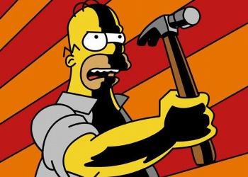 Плакаты по охране труда Симпсоны