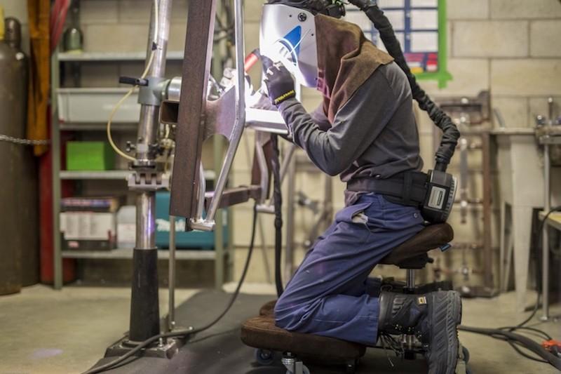 stag-mm стул-трансформер сварщика