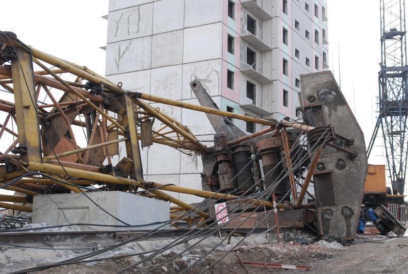 С начала года количество погибших на стройках Москвы сократилось на треть
