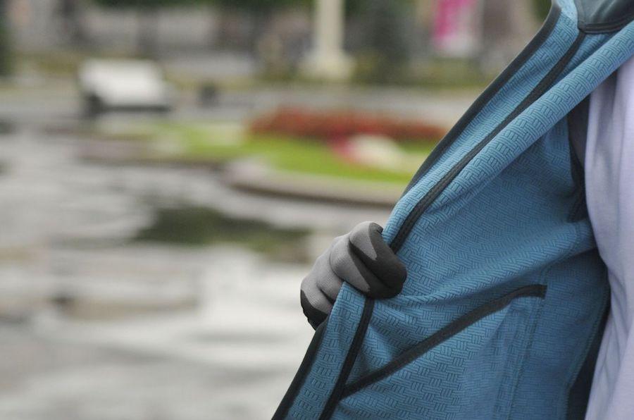 Дунай софтшелл под дождем