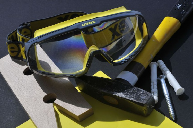 Закрытые очки uvex ю-соник