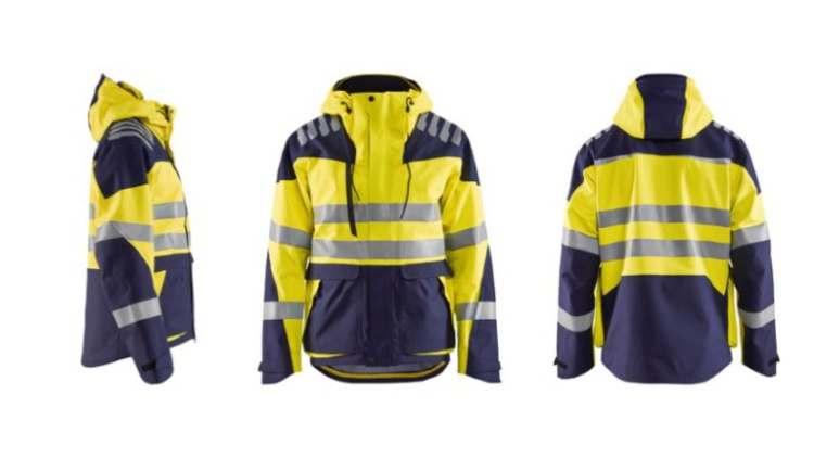 Shell Jacket High Vis Evolution