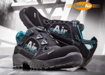 Sievi Air Roller с дышашей подошвой. Рабочая обувь с миссией