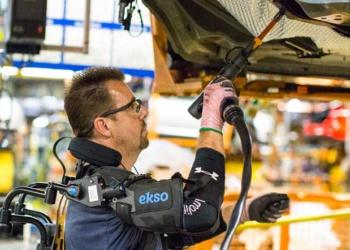 Ford Motor Company тестирует новые экзоскелеты