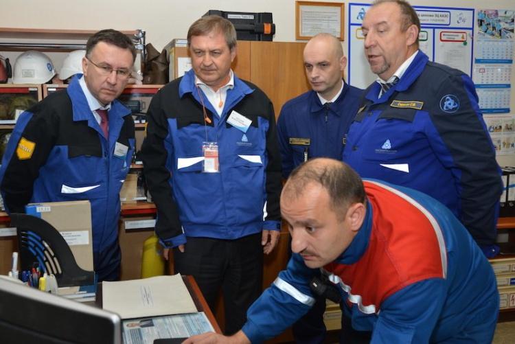 стажировка по охране труда на Кольской АЭС