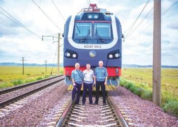 СИЗ железнодорожников в Шымкенте