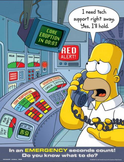 Симпсоны с юмором о серьёзном