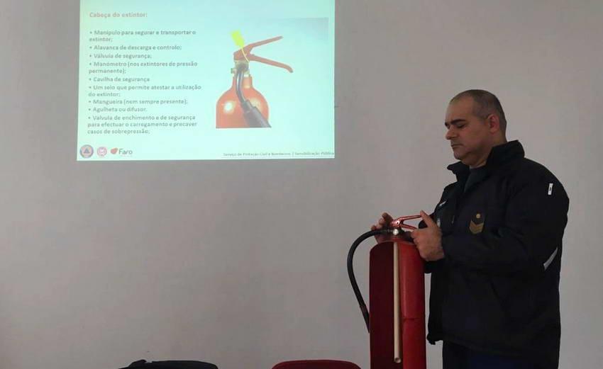 противопожарный тренинг в Португалии