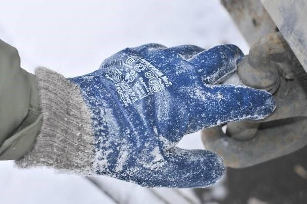 перчатки Арктика №3 для работы в сильный мороз