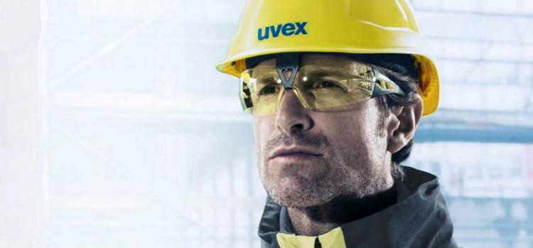 Тонировка линз защитных очков Uvex