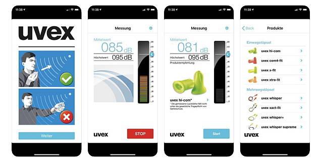 Uvex и защита слуха