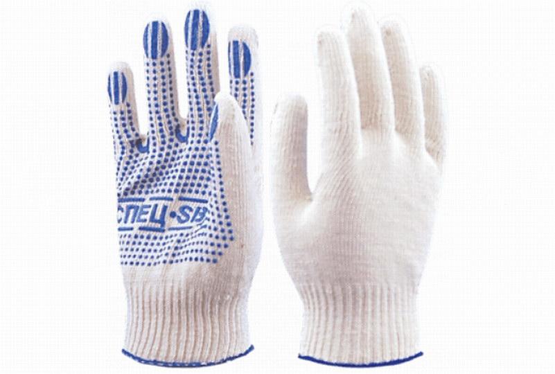 Разнообразие трикотажных перчаток ГК «Спецобъединение»