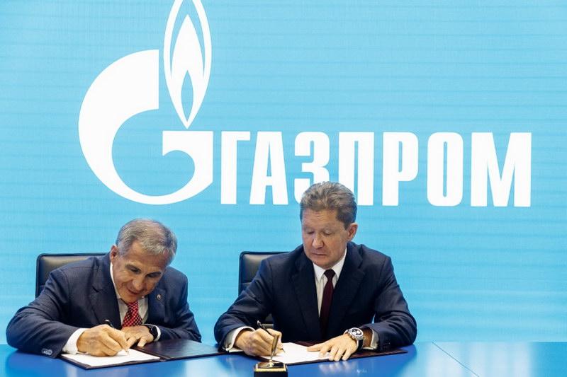 Строящиеся объекты Газпром