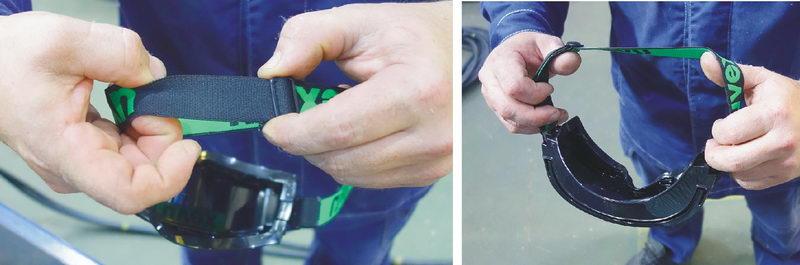 Тест очков для газосварщика Uvex