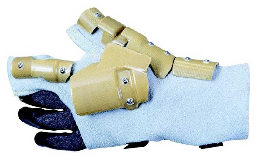 Shield защитные перчатки для работы с нейлером