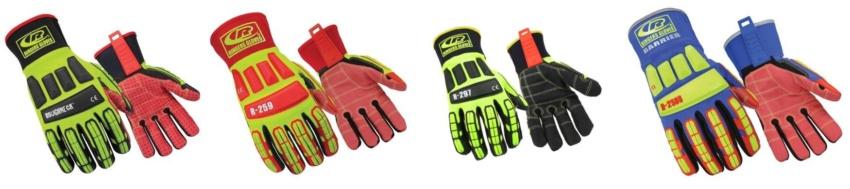Анселл испытания антиударных защитных перчаток