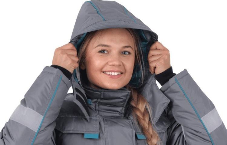 Она не замерзнет: зимний женский костюм «Октант» от «Юнион СПб»