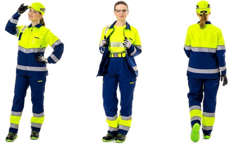Лето будет ярким: «Техноавиа» выпустила сигнальный костюм для сотрудниц аэропортов