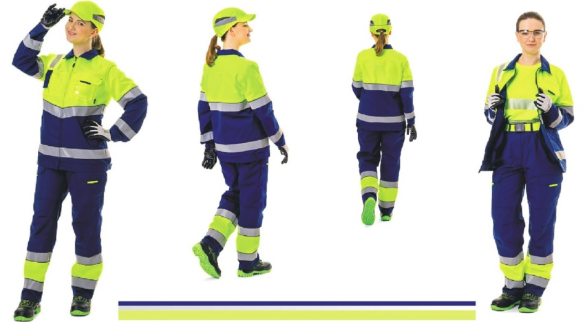 Современная сигнальная одежда для женщин