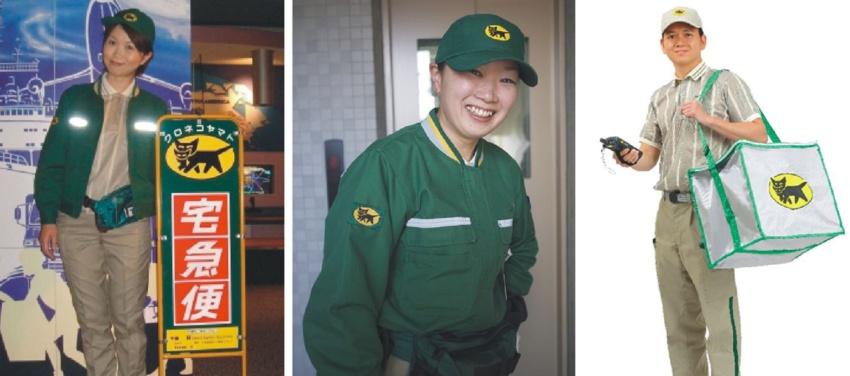 Униформа служб доставки: разные страны - разный подход