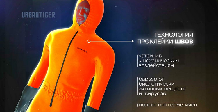 Костюмы URBANTIGER защитят от вирусов