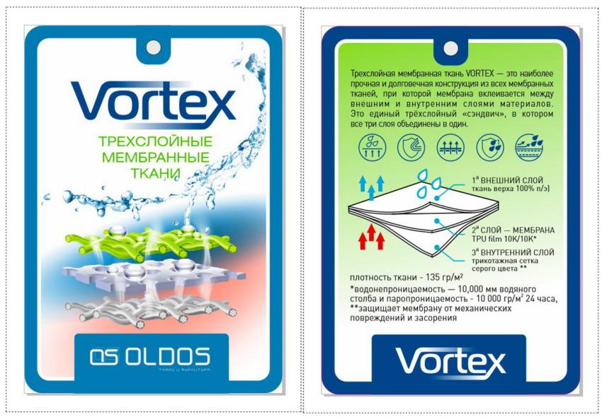 Мембранные ткани для пошива спецодежды от компании OLDOS