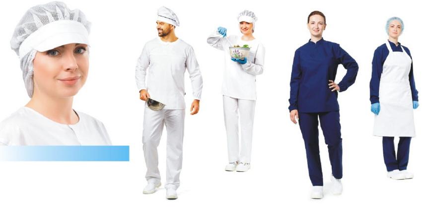 Правильная одежда для пищевого производства