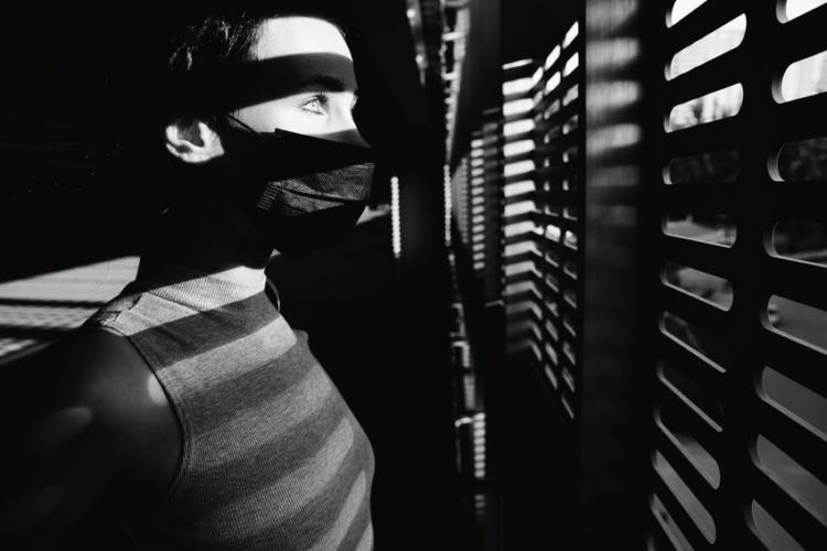 маска решетка жалюзи