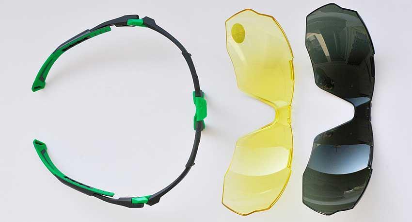 Десятка инновационных СИЗ-2020: защитные очки Univet 5X1