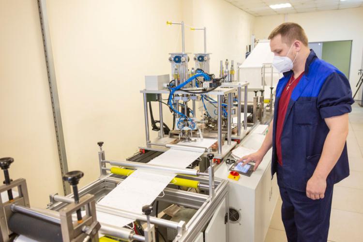 КамАЗ запускает вторую линию по производству респираторов KN95