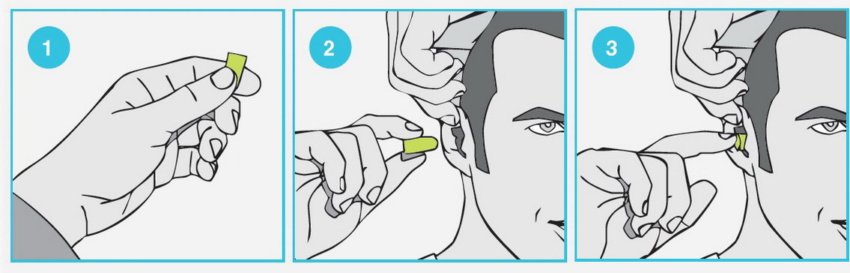 Защитить слух: семейство берушей Uvex икс-фит пич