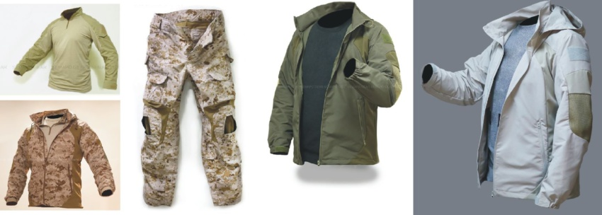 Тактическая одежда зарубежных производителей