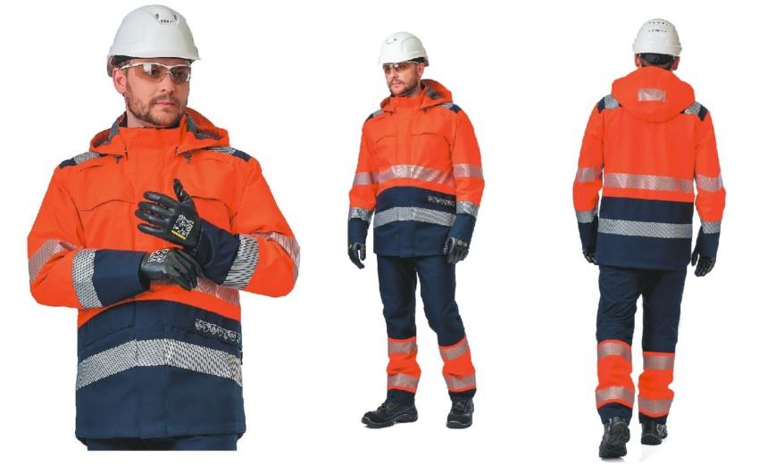 Влагозащитная сигнальная одежда «Техноавиа»